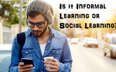 Developmental Learning: A Battle Of Informal Vs Social Learning?